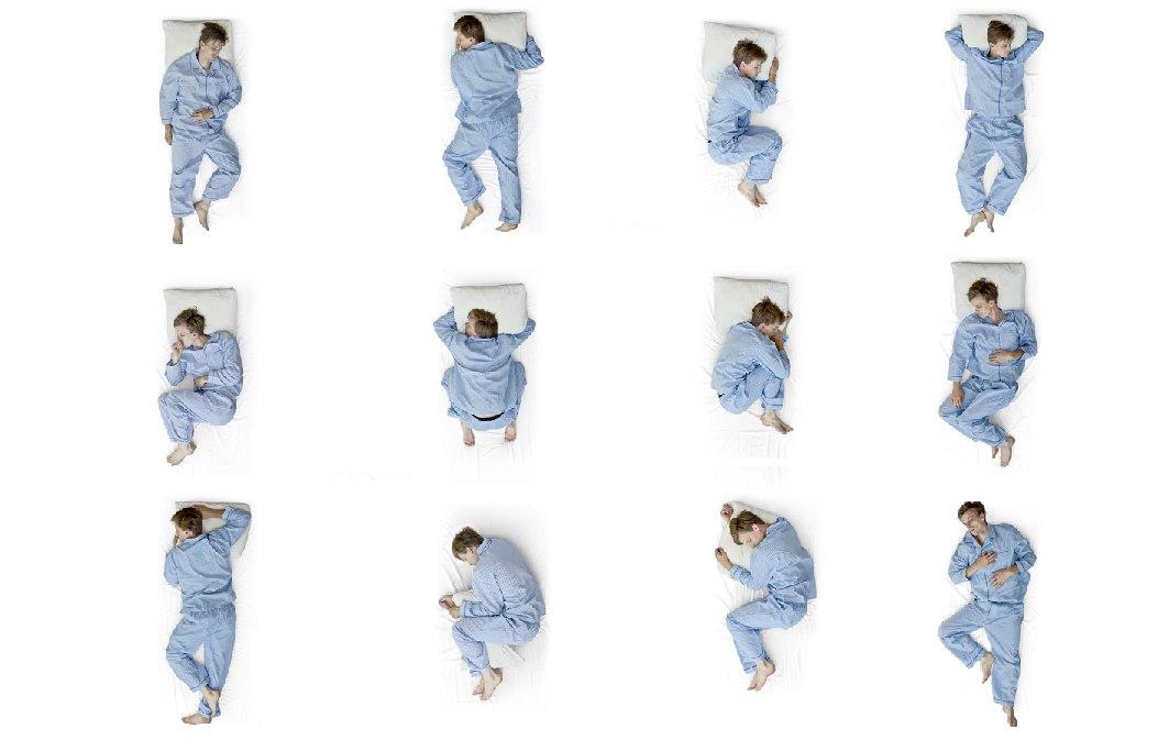 Позы спящего человека характер с картинками