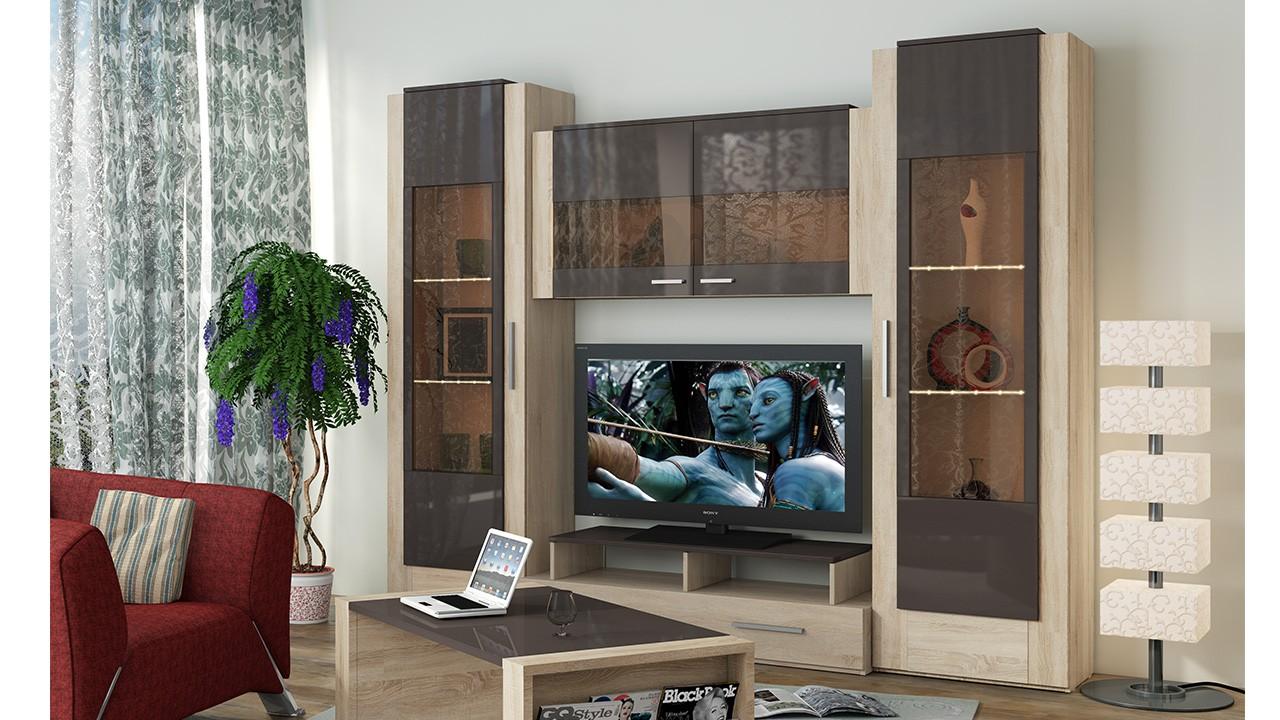 Мебель для гостиной - стенки, горки мебель под заказ.