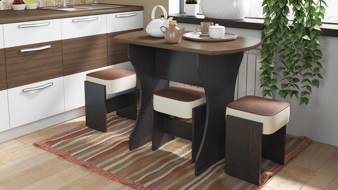 Столы для кухни своими руками фото